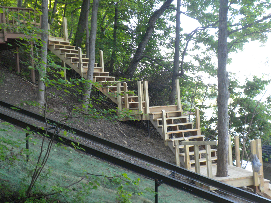 Canandaigua Lake - Intricate Stair Work
